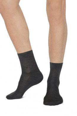 MSS-3027 Luxury Silk Socks Various Colours NAVY www.silkyboo.com