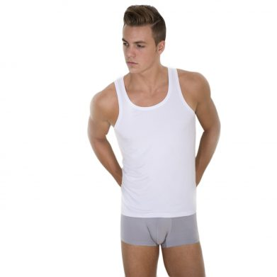 Bamboo Vest The Classic Look WHITE