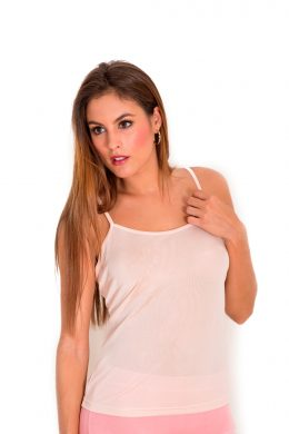 Luxury Pure Silk Camisole WSV-3060 Pale Nude Pink www.silkyboo.com