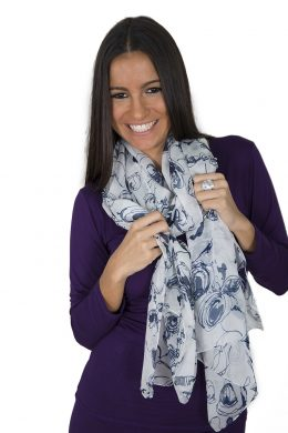 Pure Mulberry Silk Scarves Nature Collection