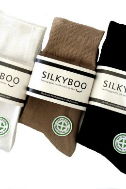 unisex-bamboo-sport-socks-white-beige-dark-brown