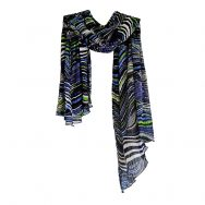 Pleated Scarf www.silkyboo.com