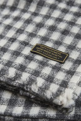 Pure Cashmere scarf for Men WCS-5019-192 www.silkyboo.com y